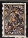 Sellos del Mundo : Europa : España : E1945 NAVIDAD Retablo Catedral de Gerona (38)