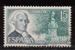 Sellos de Europa - España -  E2119 PERSONAJES - Ventura Rodriguez (47)