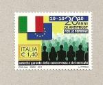 Sellos de Europa - Italia -  20 Años ley anti-trust