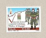 Sellos de Europa - Italia -  Brigadas contra incendios