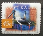 Stamps Australia -  jabiru
