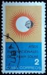 Sellos de America - Cuba -  A�os Internacionales de Calma Solar