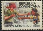 Sellos del Mundo : America : Rep_Dominicana : Scott 831 - Juegos Infantiles