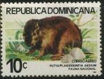 Sellos del Mundo : America : Rep_Dominicana : Scott C315 - Fauna Nacional - Hutia