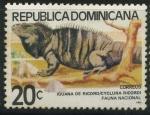 Sellos del Mundo : America : Rep_Dominicana : Scott 835 - Fauna Nacional - Iguana de Ricord