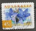 Sellos de Oceania - Australia -  wahlenbergia