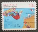 Stamps Australia -  skateboarding