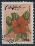 Sellos del Mundo : Africa : Cabo_Verde : Scott 421 - Flores Tipicas (Hibiscus)