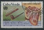 Sellos del Mundo : Africa : Cabo_Verde : Scott 421A - Lucha contra el tabaquismo