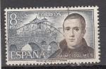 Sellos de Europa - España -  E2180 PERSONAJES: Jaime Balmes (54)