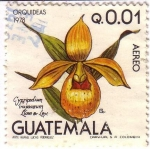 Stamps Guatemala -  Orquídeas