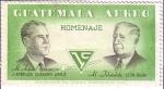 Sellos de America - Guatemala -  Chavarry A. y León Bilak