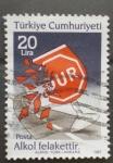 Stamps Turkey -  señales, stop