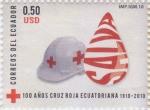Sellos de America - Ecuador -  100 años de la Cruz Roja