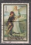 Sellos de Europa - España -  E2203 E.ROSALES - Tobías y el Angel (61)