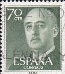 Stamps Europe - Spain -  general francisco franco