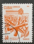 Sellos de America - Cuba -  exportaciones cubanas, tabaco