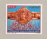 Sellos de Europa - Italia -  Elaboración artesanal coral