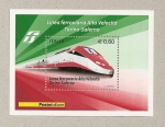 Sellos de Europa - Italia -  Tren Alta velocidad Turín-Salerno