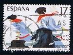 Stamps Spain -  2746  (1)  San Fermin Pamplona