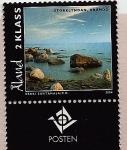 Stamps Finland -  ALAND Islands -  Brando (Isla quemada)