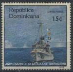 Stamps America - Dominican Republic -  Scott C382 - Aniv. Batalla de Tortuguero