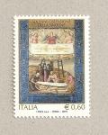Stamps Italy -  Sábana santa