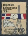 Sellos del Mundo : America : Rep_Dominicana : Scott C381 - Centenario Alianza Francesa