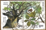 Sellos de Asia - India -  PARIJAT TREE