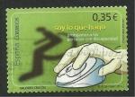 Stamps Spain -  Valores cívicos