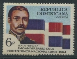 Sellos de America - Rep Dominicana -  Scott 898 - 140 Aniv. Independencia Nacional