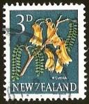 Sellos del Mundo : Oceania : Nueva_Zelanda : KOWHA