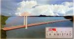 Stamps America - Costa Rica -  PUENTE  LA  AMISTAD