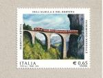 Sellos de Europa - Italia -  Puente ferrocarril en la Retica