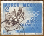 Stamps of the world : Mexico :  XIX Juegos Olimpicos MEXICO 68