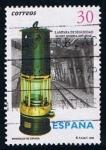 Stamps Spain -  3408  (1) Lampara minera