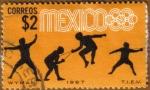 Sellos del Mundo : America : México : MEXICO 68 - Esgrima
