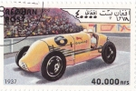 Stamps : Asia : Afghanistan :  coche formula 1