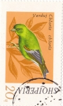 Stamps : Europe : Albania :  pajaros