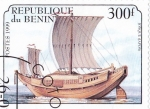 Stamps : Africa : Benin :  barcos