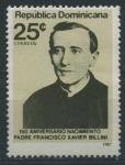 Sellos del Mundo : America : Rep_Dominicana : Scott 1016 - 150 Aniv. Nacimiento Padre Fco Xavier Billini