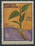 Stamps America - Dominican Republic -  Scott 998 - Plantas Alimenticias