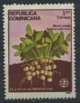 Stamps America - Dominican Republic -  Scott 1000 - Plantas Alimenticias