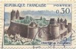 Stamps France -  Chateau de Fougères