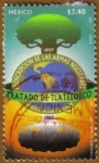 Stamps of the world : Mexico :  Tratado de TLATELOLCO