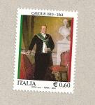 Sellos de Europa - Italia -  Cavour, político