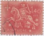 Sellos de Europa - Portugal -  Rey Dinis I,  El Labrador
