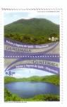 Stamps America - Guatemala -  Volcán y laguna de Ipala
