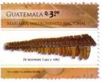 Stamps Guatemala -  Marimba Instrumento Nacional