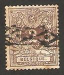 Sellos del Mundo : Europa : Bélgica : 44 - cifra